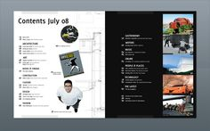 Modern Design Magazine 13 by Rolando Bouza, via Behance