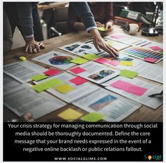 Your crisis strategy for managing communication through social media should be thoroughly documented. Define the core message that your brand needs expressed in the event of a negative online backlash or public relations fallout. The most successful businesses in the world, in a state of emergency publicity, fall back to their core values to assure the public, customers, shareholders and employees of their commitment and integrity.