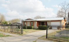 3302 Aaragon Dr. San Antonio, TX.   Located Near Palo Alto College.Home sits on 0.27 acres Corner Lot.Open Floor Plan with Living Area,Dining Area,Breakfast Bar w/Kitchen Area.Tile Throughout All Living & Wet Areas.Modern Ceiling Fan,Light Fixtures & Water Fixtures,New Kitchen & Bathroom Cabinets,French Doors,Front Iron Gate & Fence,Metal Roofing,Paint Inside & Out.Detached Dwelling Perfect for Game Room,Guest Suite (Rental)Oversize Lot to Entertaining Family & Friends.