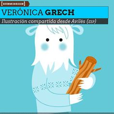Ilustración. Yetigirl de VERÓNICA GRECH  Ilustración compartida desde Avilés (ESPAÑA).    Leer más: http://www.colectivobicicleta.com/2013/02/ilustracion-de-veronica-grech.html#ixzz2JxbFSzrR