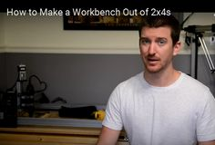 Making A Workbench, Basic Carpentry Tools, Child Teaching, Woodworking Projects For Kids, How To Plan, How To Make, Mens Tops, Kids Woodworking Projects