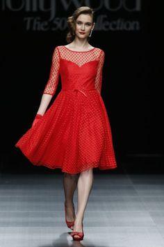 Sonia Peña primavera 2016: Glamour y mucho color en vestidos de fiesta excepcionales Image: 2