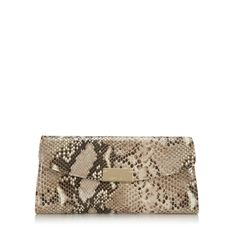 Jimmy Choo Riane - Shaded snake print leather gives an exotic finish to this sleek clutch bag which can also be worn on the shoulder using the chain strap. Leather Clutch Bags, Michael Kors Wallet, Snake Print, Small Bags, Evening Bags, Jimmy Choo, Chain, Virtual Closet, Scarfs