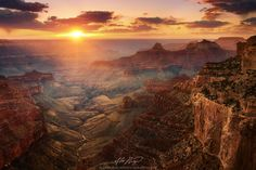 Grand Canyon North Rim, Arizona Sunset (by Alex Noriega. Grand Canyon River, Places To Travel, Places To See, Travel Destinations, Las Vegas, Sunset Pictures, The Great Outdoors, Wonders Of The World, Beautiful Places