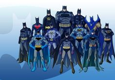 Batmen of the Ages