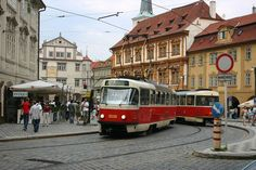 Prague: more lovely trams