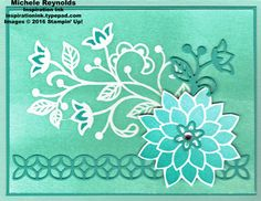 Handmade card using Stampin' Up! products - Flourishing Phrases Stamp Set, Clear…