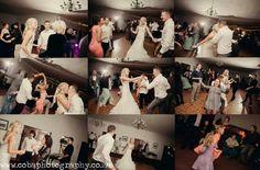 Dancing up a storm on the dance floor