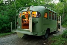 If you're looking to minimize your lifestyle and enjoy traveling adventures, the Short Bus Retro by Winkleman Architecture should provide some insp...