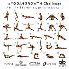 Time to get back on the wagon and do a monthly yoga challenge!! Thanks…