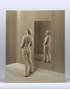Esculturas hiper-realistas de Peter Demetz em madeira #wood #escultura LINDO DEMAIS
