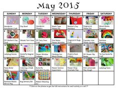 31 May crafts and activities! From Mother's Day crafts to spring learning activities! Mother's Day Activities, Printable Activities For Kids, Outdoor Activities For Kids, Crafts For Kids, Free Printables, May Activity, Diy Fairy Door, Mother's Day Theme, Rainbow Card