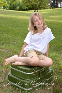 #kids, #photography, #kidsphotography, #girl, #nature, #suitcase, #natural light, #jennilynnphotography, #jennilynnphotography.net