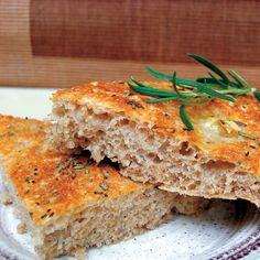 Rosemary-Garlic Flatbread Recipe - Real Food - MOTHER EARTH NEWS