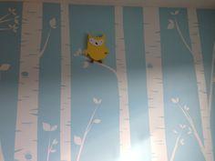 Super cute baby wall!