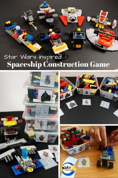 Spaceship Construction Game - Star Wars Inspired - Kidz Activities