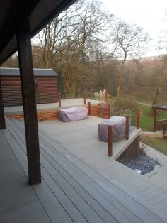 Composite decking for beautiful outdoor spaces. Browse TimberTech's range of low-maintenance composite decking boards. Timbertech Decking, Plastic Decking, Outdoor Spaces, Outdoor Decor, Composite Decking, Birch, Patio, Outdoor Living Spaces, Composite Cladding