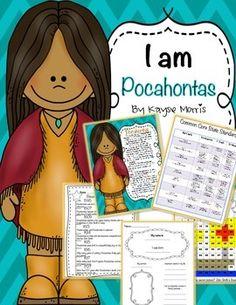 Pocahontas~A Mini Unit (Women's History)