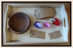 """Simple hole punching with single hole punches (shaped and plain round) from Rachel ("""",) Teaching Numbers, Math Numbers, Funky Fingers, Classroom Arrangement, Reggio Emilia, Baby Play, Mark Making, Kindergarten Math, Early Learning"""