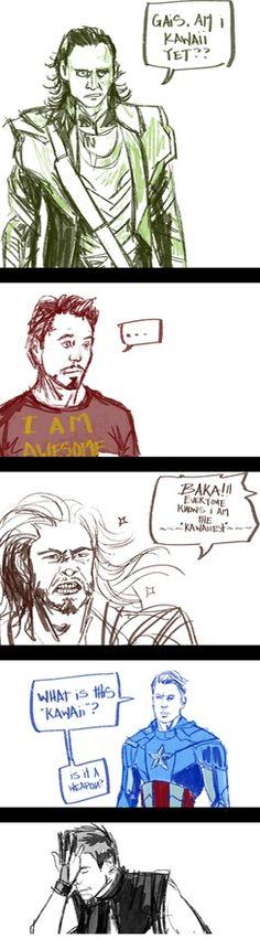 Loki ... loki no. haha! I understand! I speak Japanese!