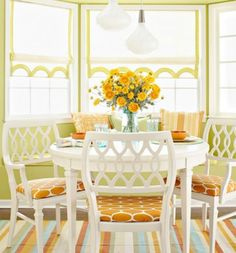 Sunny Days & Starry Nights: Breakfast Room