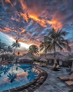 Atardecer en Ubud, Bali