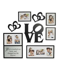 Take a look at this 'Love' Frame & Wall Art Set by Elements by Lifetime Brands on #zulily today!