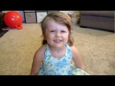 3 1/2 yr old Kayla sings 'Rolling in the Deep' cutest thing ever ♥