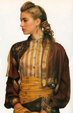 Elaine Irwin 1989 #supermodels #vintage #glamour #retro #nostalgia #1980s #1990s