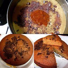 la cucina di Rosaria: Torta con marmellata di arance e pezzettini di cio...