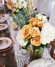 Make a gorgeous Thanksgiving tablescape with easy tricks from Tone It Up!