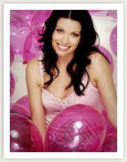 Damart's Breast Cancer Campaign Pink Vest model - 2007 - Coronation Street's Alison King Carla Connor, Alison King, Coronation Street, Breast Cancer, Love Her, Pink, Campaign, Calm, Model