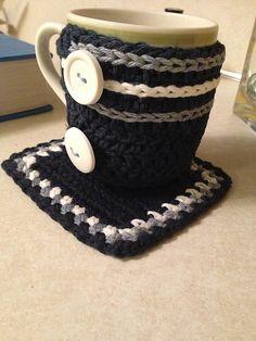 Crochet Mug Cozy - Tutorial I MUST MAKE THIS