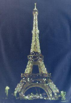 Eiffel Tower Negative