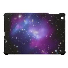 Purple Galaxy Cluster iPad Mini Case