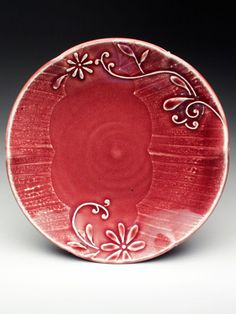 Plate by Kristen Kieffer at MudFire Gallery