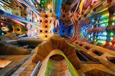 Gaudi's Sagrada Familia, Barcelona, Spain