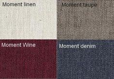 Moment Linen / Moment Taupe / Moment Vin / Moment Denim Från Hovden Moment Linen / Moment Taupe / Moment Wine / Moment Denim From Hovden