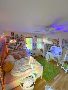 Cute Room Ideas, Cute Room Decor, Indie Room Decor, Indie Bedroom, Teen Bedroom, Chill Room, Cozy Room, Room Ideas Bedroom, Bedroom Decor