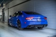 Beautiful bb blue RS 7