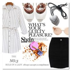 """SheIn"" by selmagorath ❤ liked on Polyvore featuring WithChic, Rochas, Linda Farrow, Sheinside and shein"