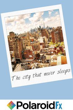 Explore every city through an all new lens. Download the Polaroid Fx app to customize and create Polaroid photos.