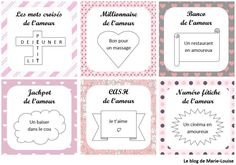 DIY Valentine's Day: good love way scratch tickets – DIY Easy Valentines Bricolage, Diy Valentines Cards, Homemade Valentines, Coupons D'amour, Love Coupons, Saint Valentin Diy, Valentine's Day Diy, Blog, Valentino