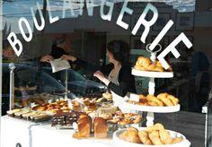 French Cafes, Restaurants, Patisseries, Bakeries in Melbourne - Broadsheet Good Bakery, Bakery Cafe, Cafe Restaurant, Bakery Shops, French Cafe, French Food, Parisian Cake, Cupcakes, Bakery Design