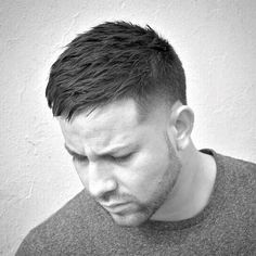 Texturized Taper Men's Short Haircuts