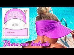 Cap, Sewing, Youtube, Patterns, Ideas, Fashion, Sun Visor Hat, Fancy Hats, Flower Headbands