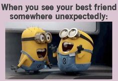 When You See Your Best Friend Somewhere Unexpectedly Pictures, Photos, and Images for Facebook, Tumblr, Pinterest, and Twitter