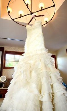 Used Lazaro Wedding Dress LZ 3050, Size 8    Get a designer gown for (much!) less on PreOwnedWeddingDresses.com