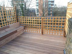 At London Decking Company we create beautiful timber and composite decking areas throughout the London,UK, using the best materials and experienced staff. Hardwood Decking, Decking Area, Composite Decking, Building A Deck, Surrey, London, Garden, Outdoor Decor, Home Decor
