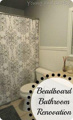 Beadboard Bathroom Renovation